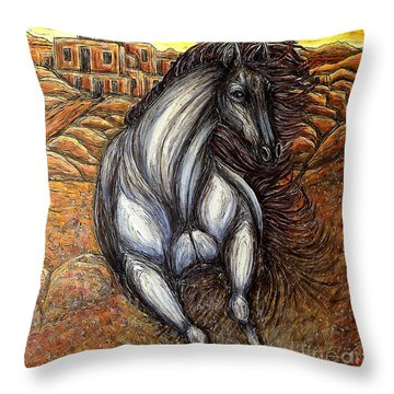 The Winds Have Changed Throw Pillow