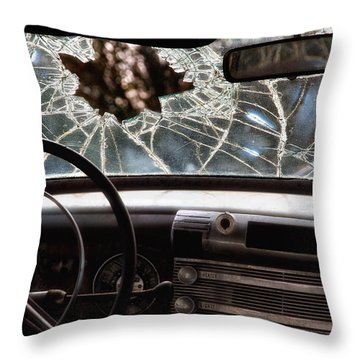 The Windshield  Throw Pillow