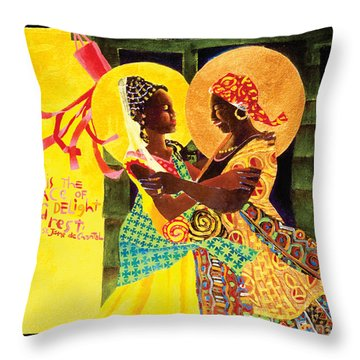 The Windsock Visitation - Mmwiv Throw Pillow