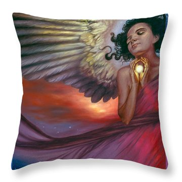 The Wish Bearer Throw Pillow