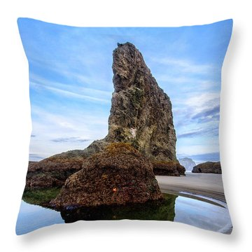 The Wizards Hat Throw Pillow