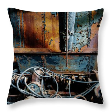 The Wizard's Music Box Throw Pillow