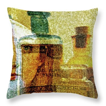 The Woman Behind Throw Pillow