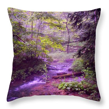 The Wonder Of Nature Throw Pillow by John Stuart Webbstock
