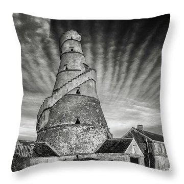The Wonderful Irish Barn Throw Pillow