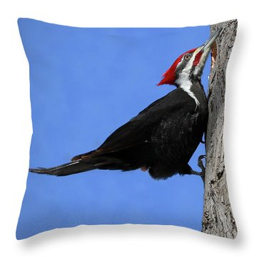 The Woodchipper Throw Pillow