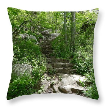The Work Of Unknown Hands Throw Pillow