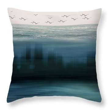The World As We Know It Throw Pillow
