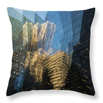 Throw Pillow featuring the photograph The World Keeps Turning by Alex Lapidus