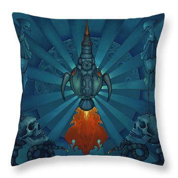 The World Owes Us Nothing, We Owe Each Other The World Throw Pillow