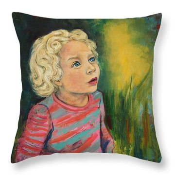 The World Unfolding Throw Pillow