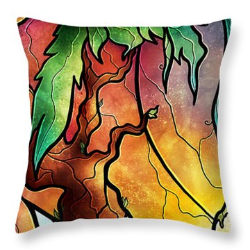 The World Was Ours Throw Pillow