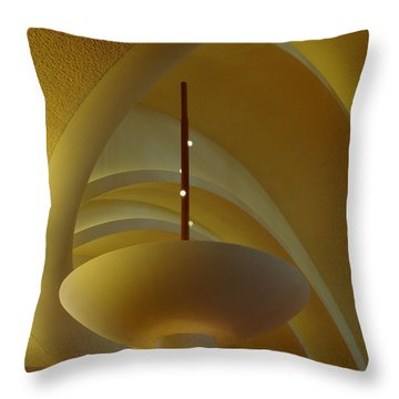The Wright Design Throw Pillow by Linda Mishler