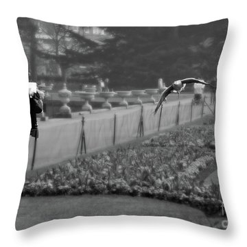 The Writers Story Throw Pillow