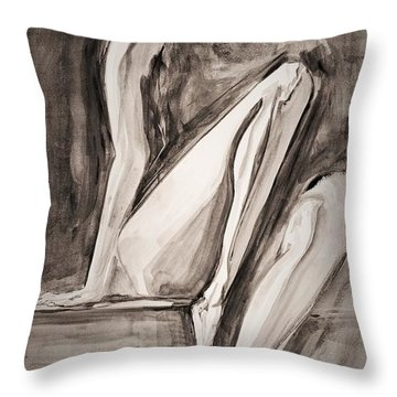 The Yearning Throw Pillow