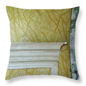 The Yellow Room No. 3 - Detail Throw Pillow