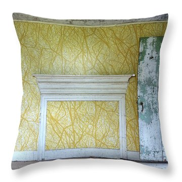The Yellow Room No.3 Throw Pillow