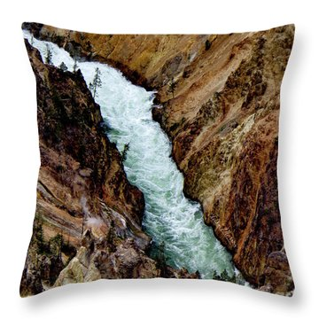 The Yellowstone Throw Pillow