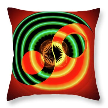 The Yin And The Yang Throw Pillow