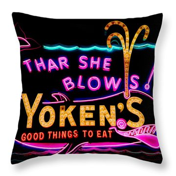 The Yoken's Sign 001 Throw Pillow