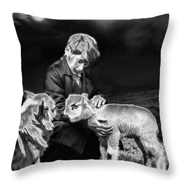 The Young Ones Throw Pillow by Pennie  McCracken