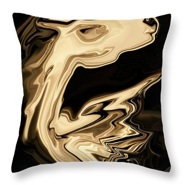The Young Pegasus Throw Pillow
