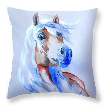 The Young Rebel II Throw Pillow
