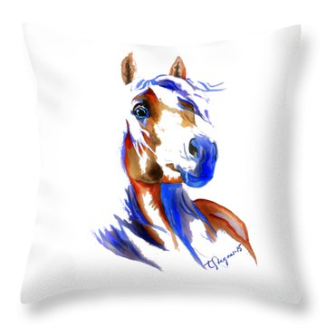 The Young Rebel Throw Pillow