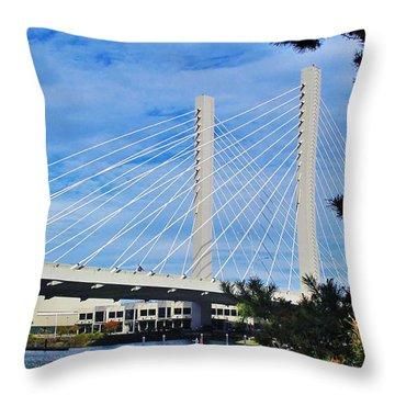Thea Foss Bridge  Throw Pillow