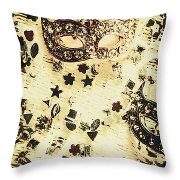 Theater Fun Art Throw Pillow