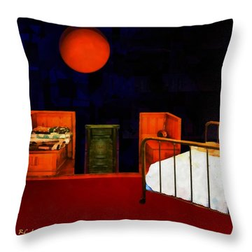 Theater Of Dreams Throw Pillow by RC deWinter