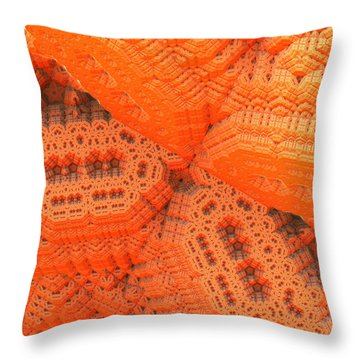 Theatrical Maze Throw Pillow