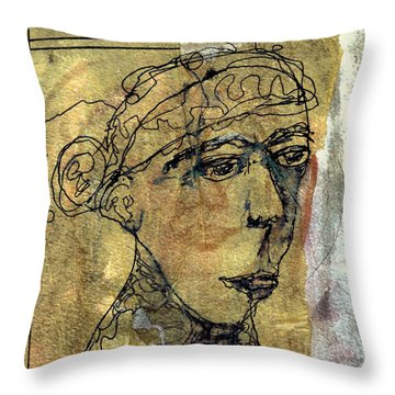 Thelma Throw Pillow by A K Dayton