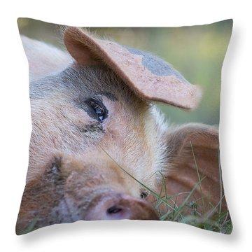 Thelma Lou Throw Pillow