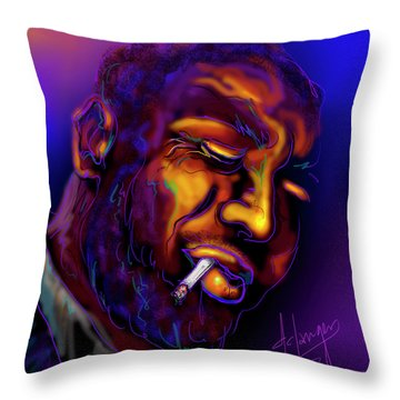 Thelonious My Old Friend Throw Pillow
