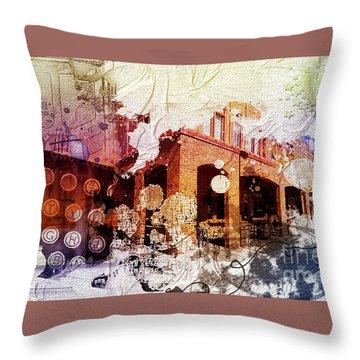 Them Olden Days Throw Pillow