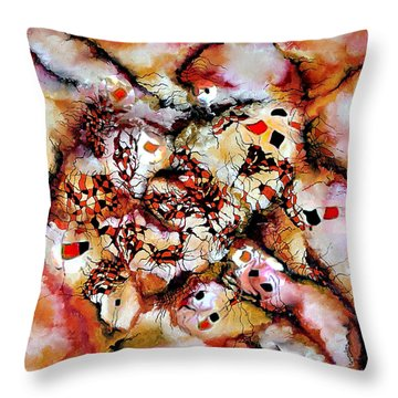 Theme From Aesthetic Fire Throw Pillow