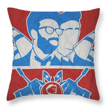 Theminimalist Movie Poster- The Interview Throw Pillow