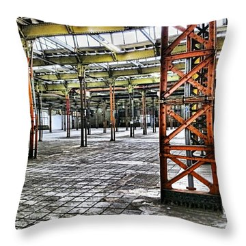 Then And Now Throw Pillow