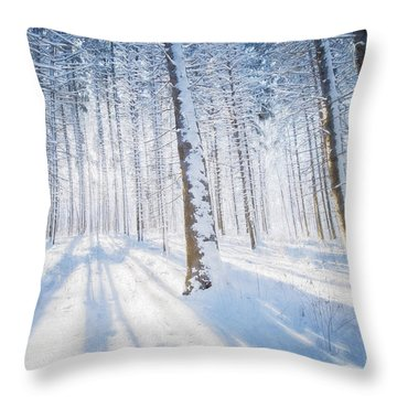 Then I Thought Of Her Throw Pillow
