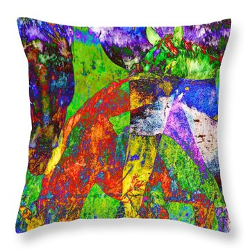 Then There Were Four Throw Pillow
