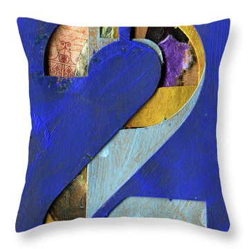 Thenumber 2 Throw Pillow