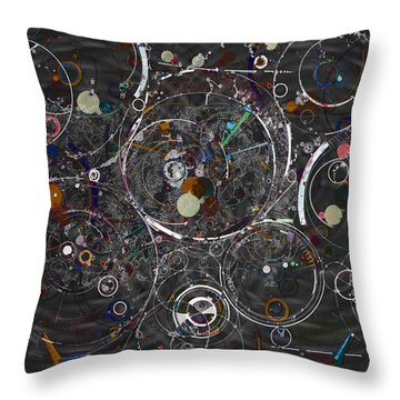 Theories Of Everything Throw Pillow