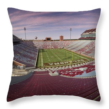 The Palace On The Prairie Throw Pillow