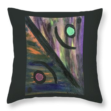 Therapist's Office Throw Pillow
