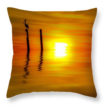 There Are Moments Throw Pillow