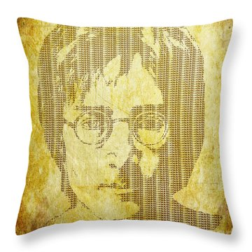 There Is A Magi In Imagine Throw Pillow by Laura Brightwood