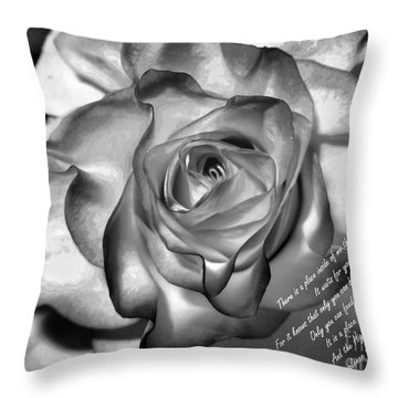 There Is A Place Inside Of Me Throw Pillow