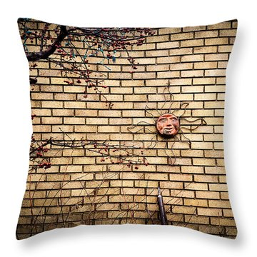 There Is Always The Sun Throw Pillow by Celso Bressan
