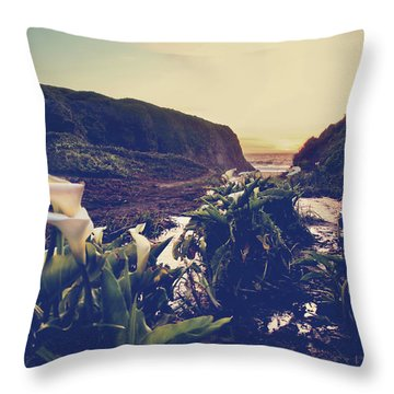 There Is Harmony Throw Pillow by Laurie Search